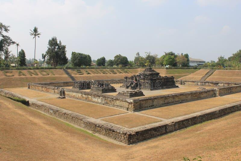 Sambisari-Tempel lizenzfreie stockbilder