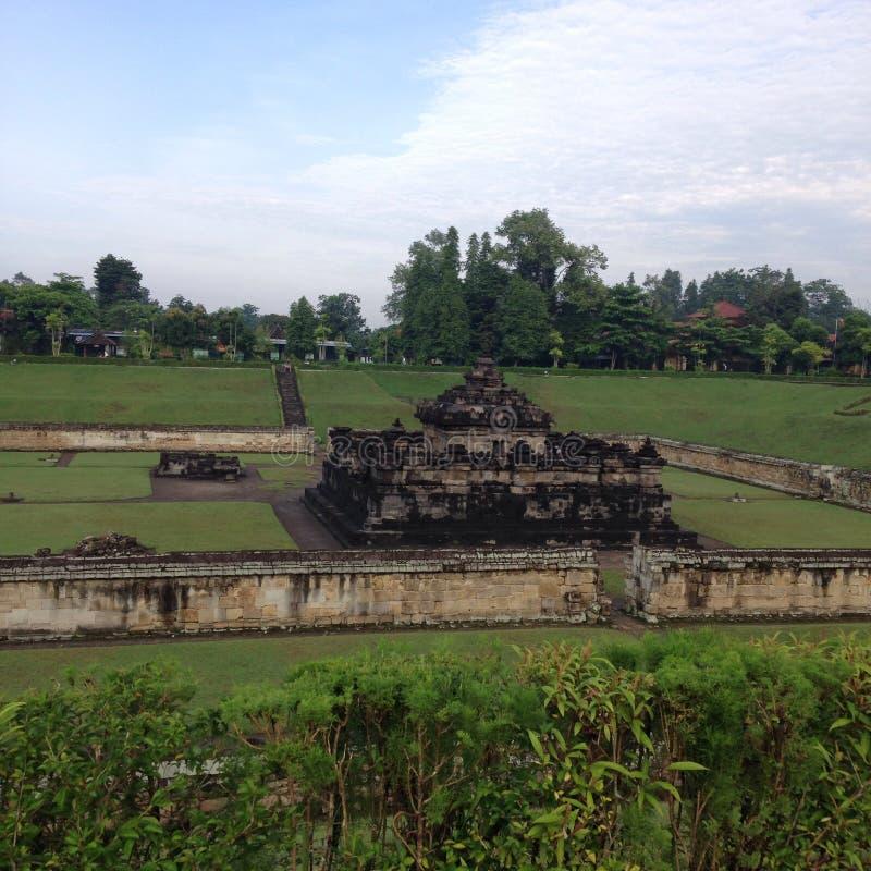Sambisari-Tempel Indonesien lizenzfreie stockfotos