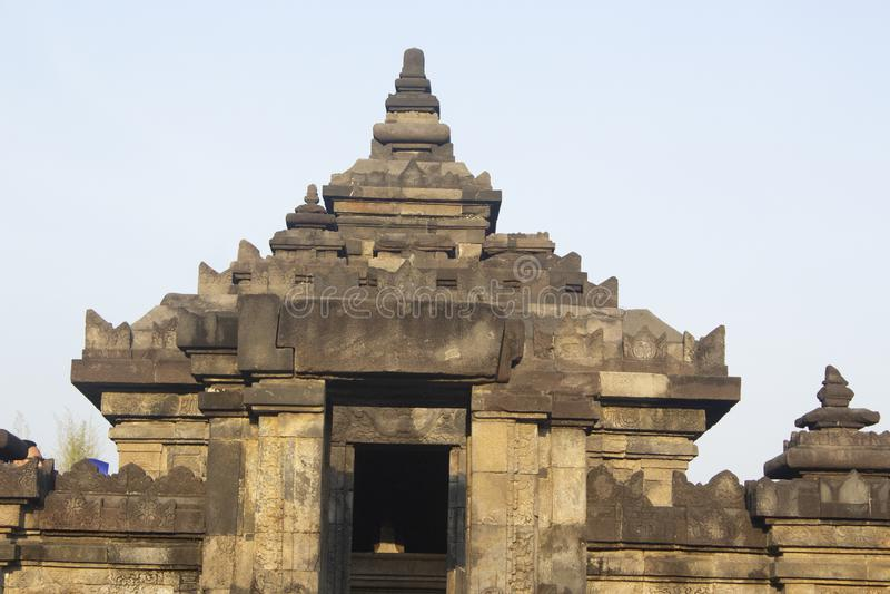 Sambisari-Tempel Yogyakarta lizenzfreies stockbild