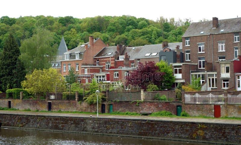 Sambre River, Namur, Belgium stock images