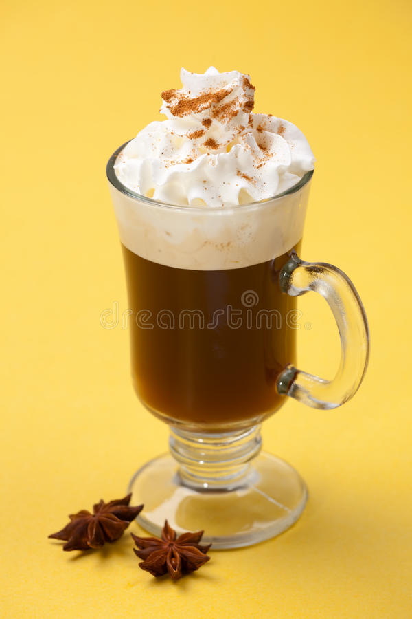 Free Sambuca Coffee Cocktail - Coffee Warmers Stock Photo - 11096970