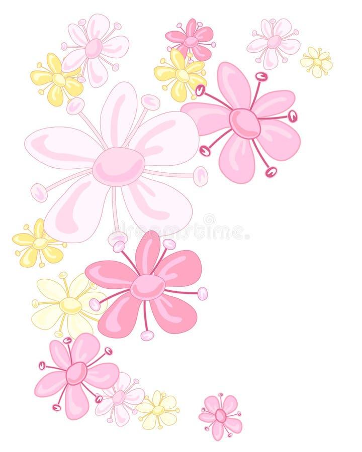 Sambuco rosa illustrazione vettoriale