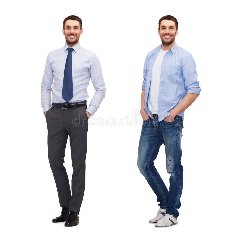 Same Man In Different Style Clothes Stock Photo Image Of Modern Collage 59127948