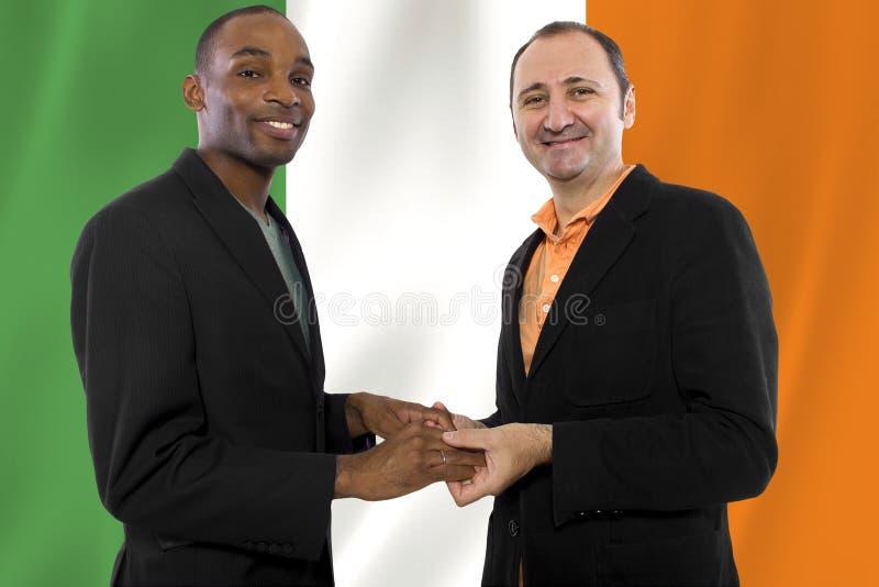 Same Sex Couple in Ireland royalty free stock photo