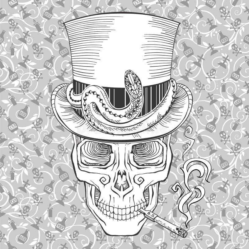 Samedi do barão ilustração stock