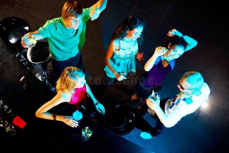 Samen het dansen royalty-vrije stock fotografie