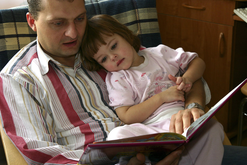 Samen het lezen stock afbeelding