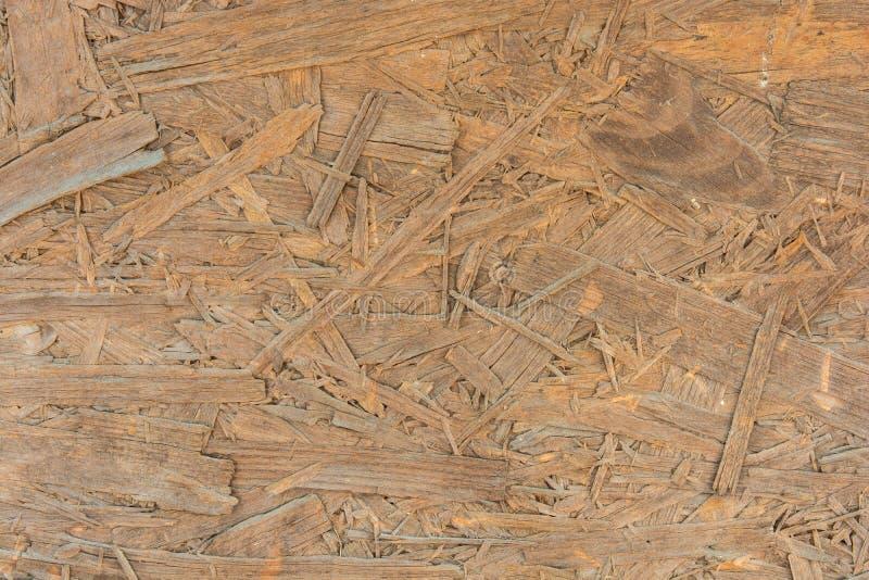 Samengeperste houten textuur royalty-vrije stock foto