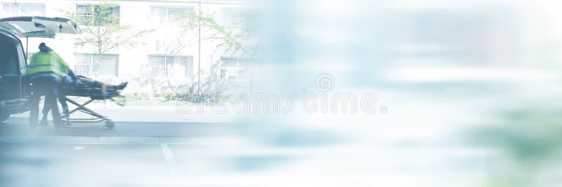 Samengesteld beeld van de onscherpe straat van New York royalty-vrije stock foto's