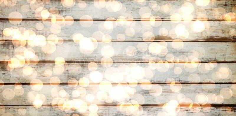 Samengesteld beeld van het lichte gloeiende patroon van het puntenontwerp vector illustratie