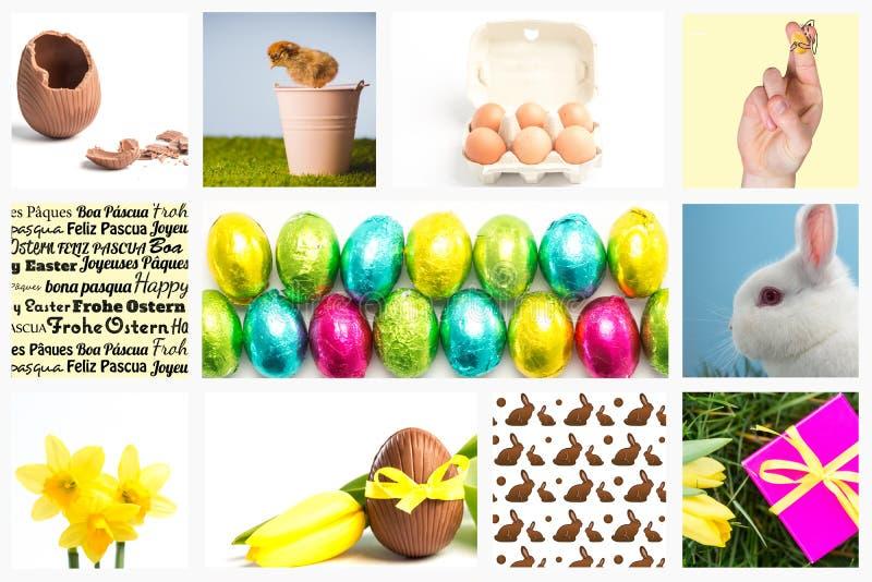 Samengesteld beeld van vingers als Pasen-konijntje royalty-vrije stock foto's