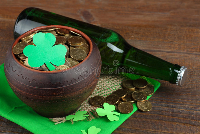 Samenstelling van St Patrick stock fotografie