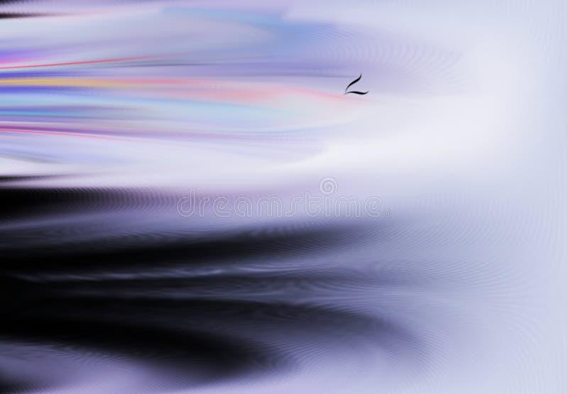 Samenvatting Art Het schilderen grafisch Abstractie beeld stock illustratie