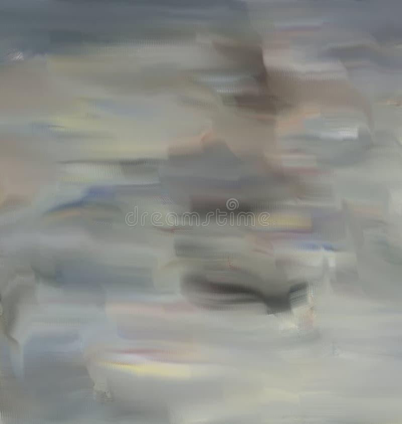 Samenvatting Art Het schilderen grafisch Abstractie beeld royalty-vrije illustratie