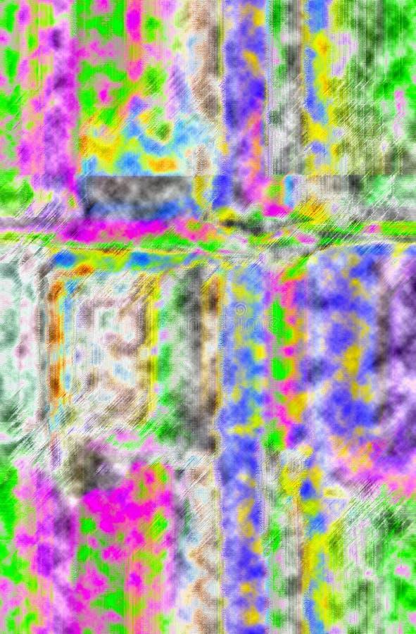 Samenvatting Art Het schilderen grafisch Abstractie beeld stock fotografie