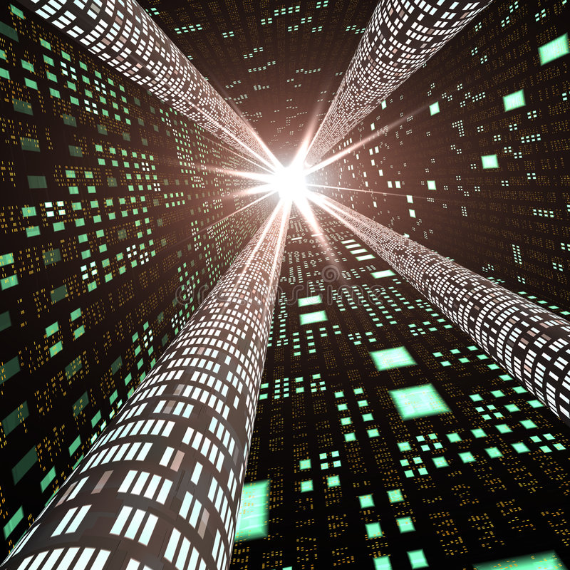 Samenvatting - de Weg van de Informatie van de Hoge snelheid