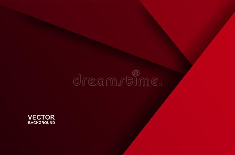 Samenvatting E document kunststijl, licht en schaduw Vector stock fotografie