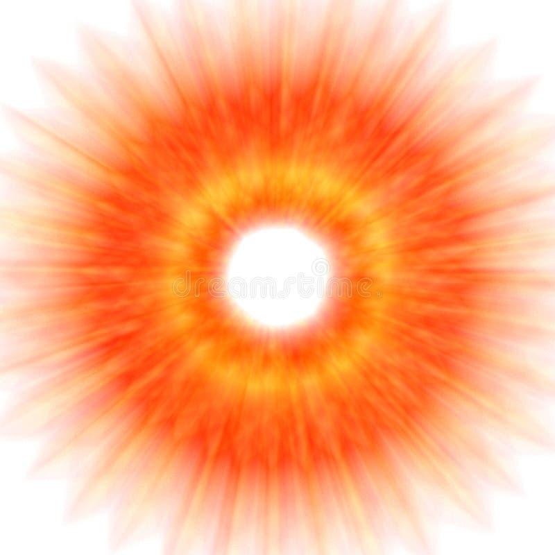 Samenvatting - Explosie stock illustratie