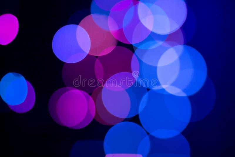 Samenvatting gekleurde bokeh texturen stock foto's