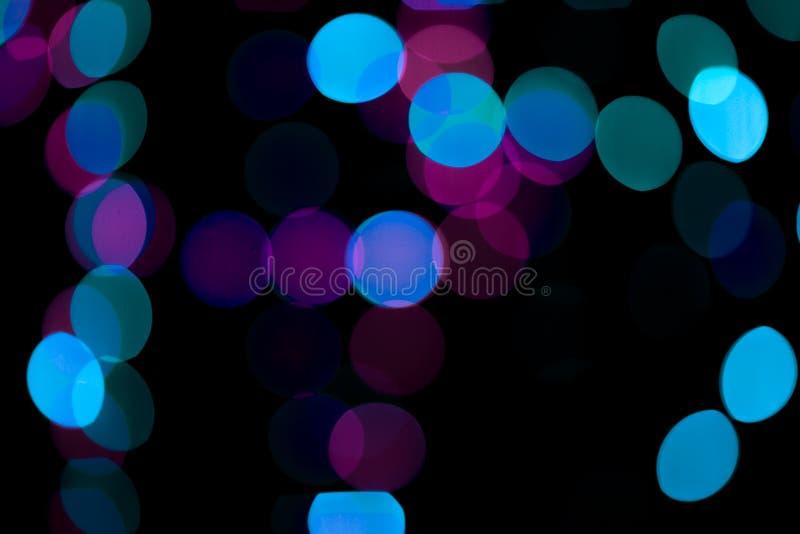 Samenvatting gekleurde bokeh texturen royalty-vrije stock foto