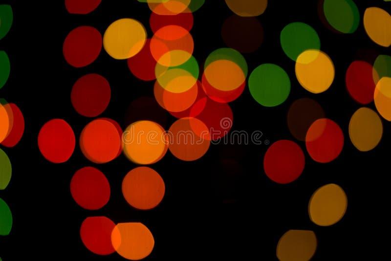 Samenvatting gekleurde bokeh texturen royalty-vrije stock afbeeldingen