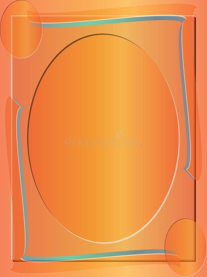 Samenvatting gekleurde frame grensachtergrond