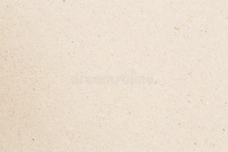 Samenvatting gerecycleerde document textuur voor achtergrond, Kartonblad o royalty-vrije stock afbeeldingen