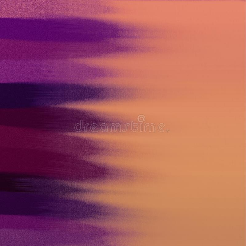 Samenvatting geschilderde achtergrond De monsters van de Grungekleur in purpere toon Goed voor: affichekaarten, decor royalty-vrije illustratie