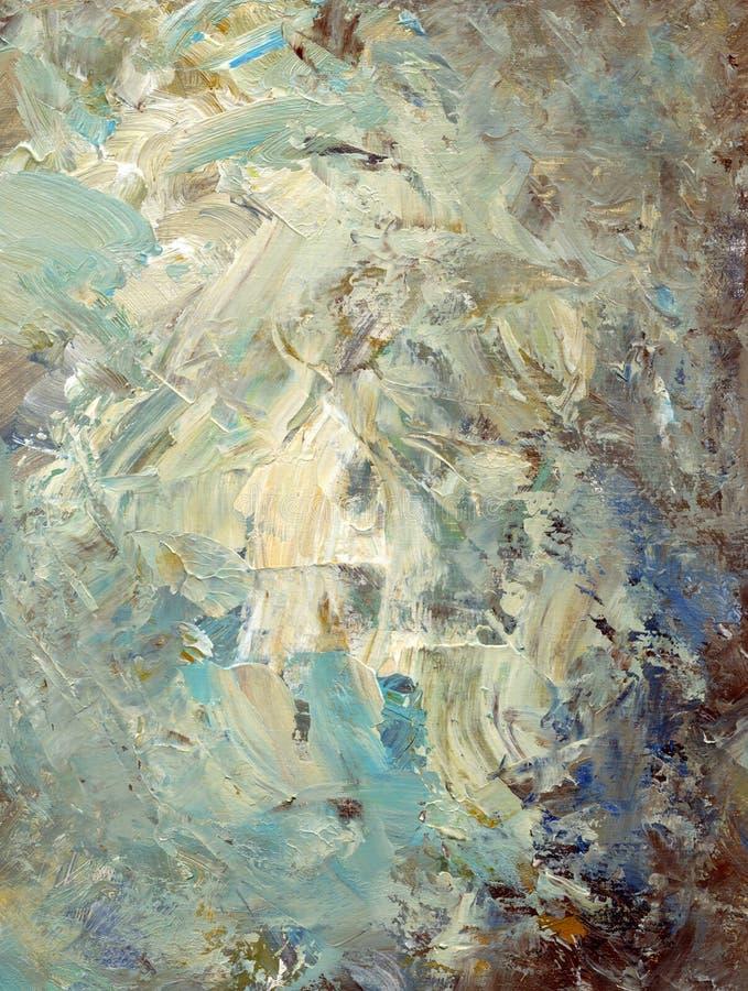 Samenvatting geschilderde textuur stock afbeelding