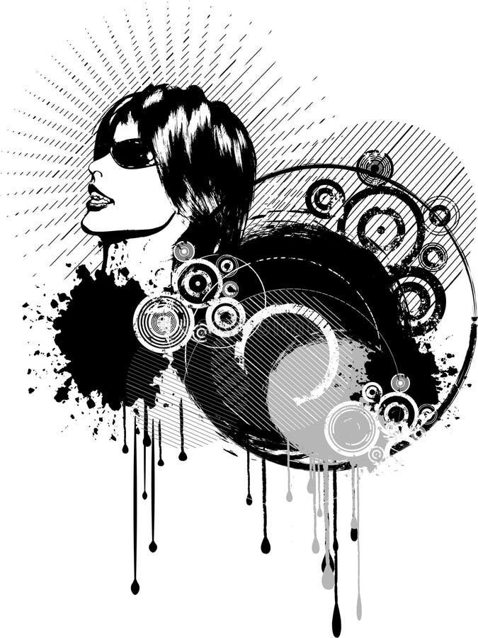 Samenvatting grunge vector illustratie