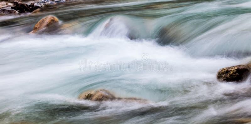 Samenvatting II van de rivier stock fotografie