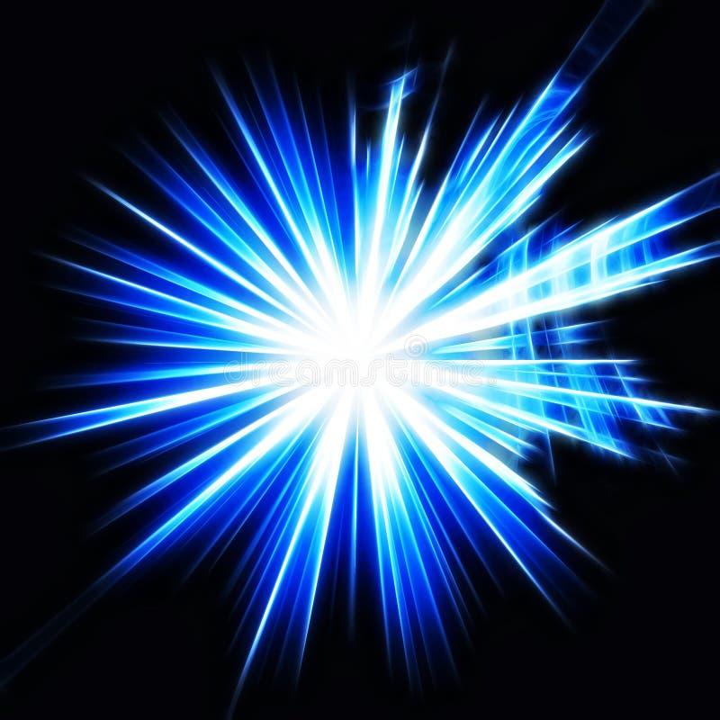 Samenvatting starburst stock foto