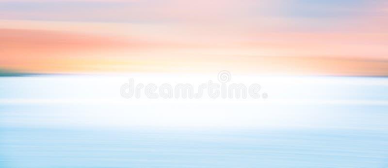 Samenvatting vage achtergrond van de hemel van de schemeringstreek royalty-vrije stock foto