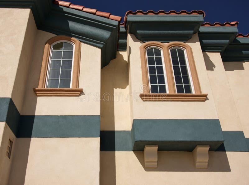 Samenvatting van Architecturale Details stock afbeelding