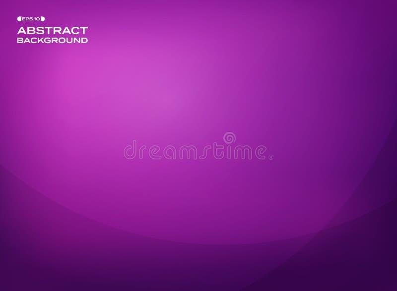 Samenvatting van gradiënt violette achtergrond met exemplaarruimte vector illustratie