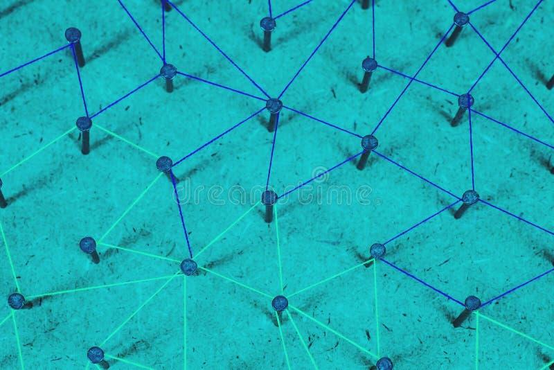 Samenvatting van Netwerk, sociale media, Internet en mededeling stock foto
