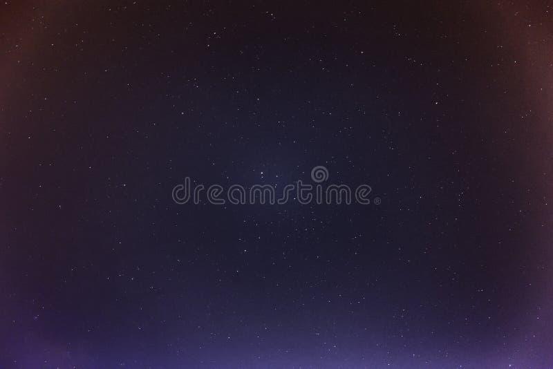 Samenvatting van ster op de achtergrond van de nachthemel royalty-vrije stock foto