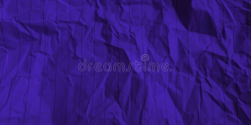 Samenvatting verfrommelde document diepe azuurblauwe de gevolgenachtergrond van kleuren multikleuren royalty-vrije stock afbeelding