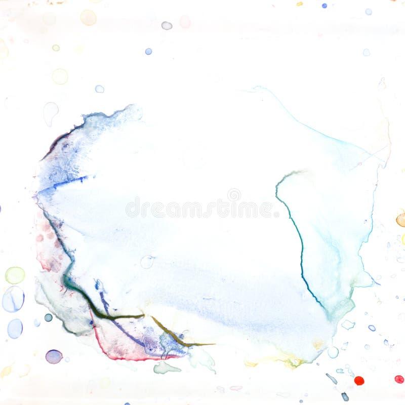 Samenvatting watercolour royalty-vrije stock fotografie