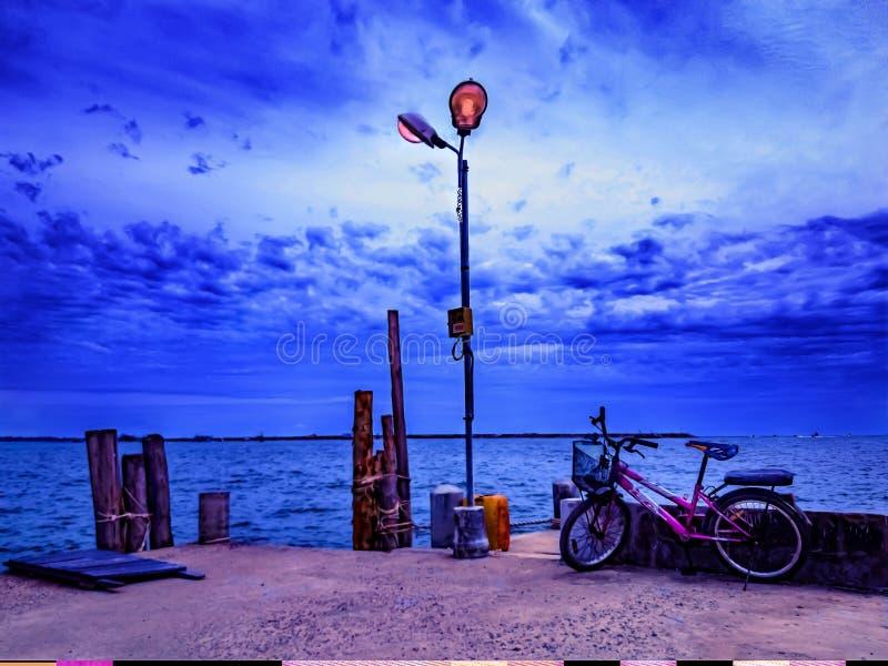 Samet sea shore royalty free stock photos