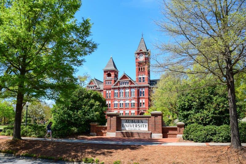 Samford Hall At Auburn University Editorial Photography