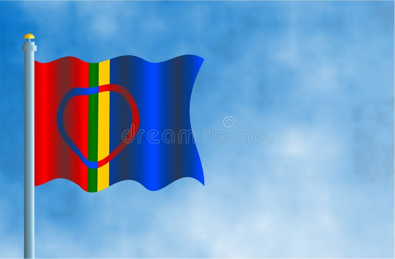 Download Sami stock illustration. Image of wind, patterns, countries - 66660