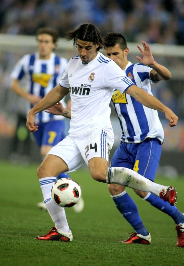 Sami Khedira of Real Madrid royalty free stock photo