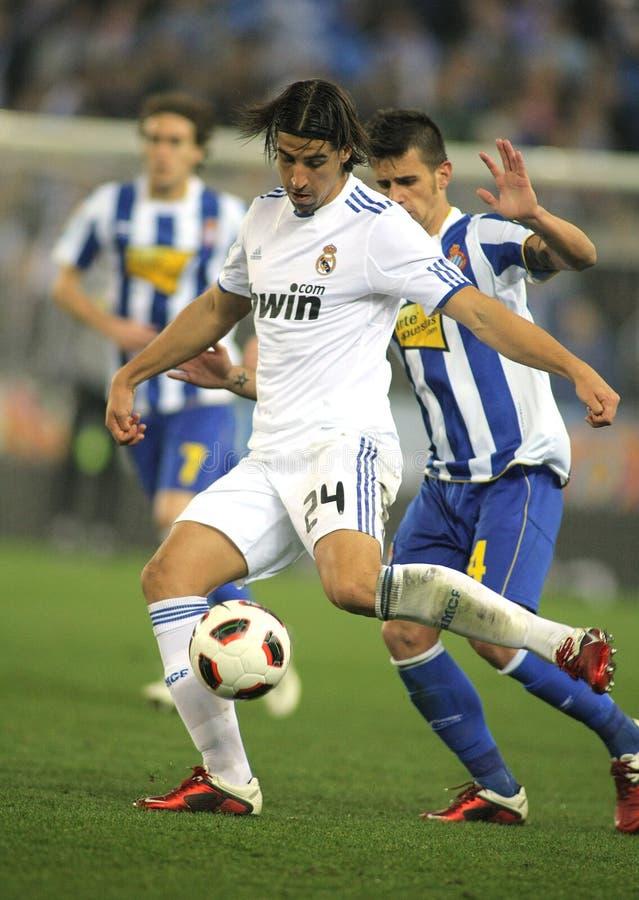 Sami Khedira of Real Madrid stock image