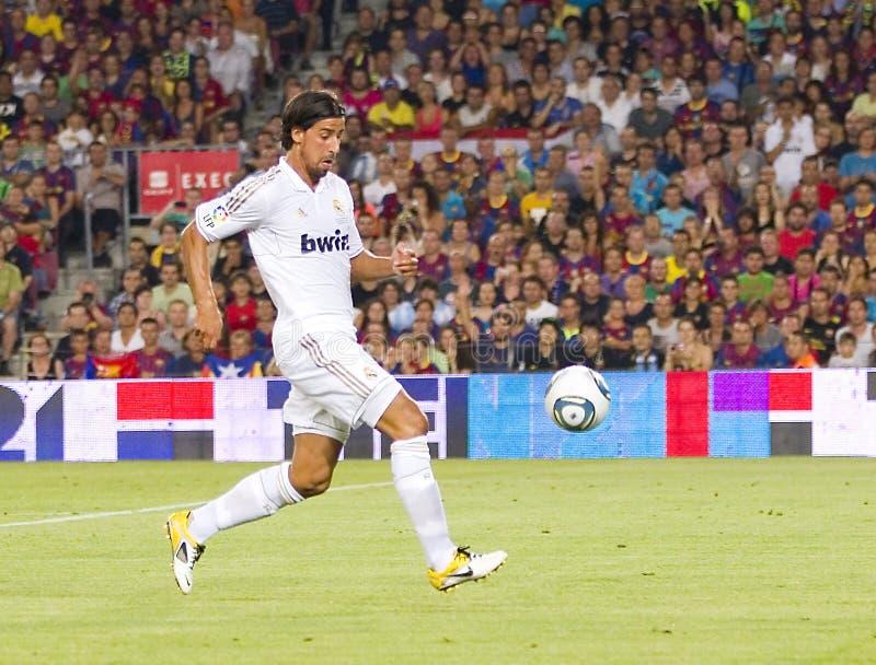 Sami Khedira of Real Madrid stock photo