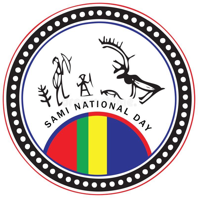 Sami National Day vector illustratie