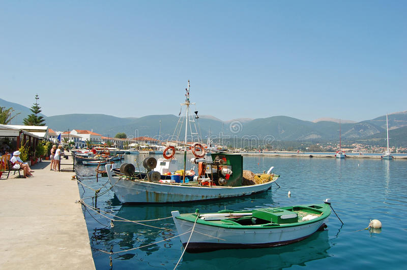 Download Sami Quayside stock photo. Image of ocean, mediterranean - 27914806