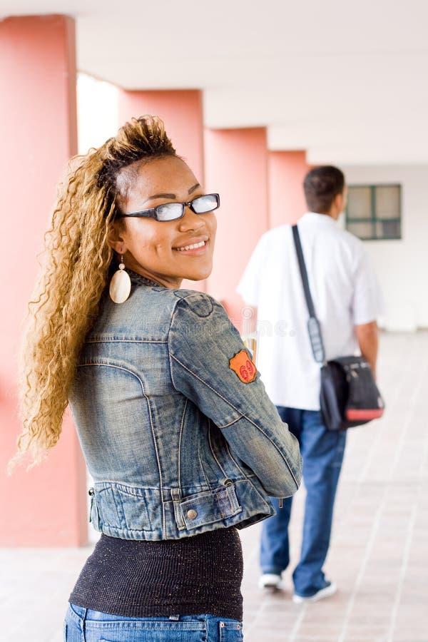 samica student college ' u obrazy stock