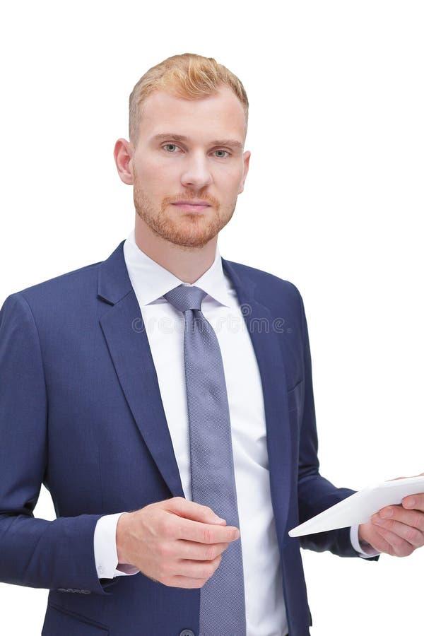 Samiec podatku doradcy finansowy ksi?gowy zdjęcia royalty free