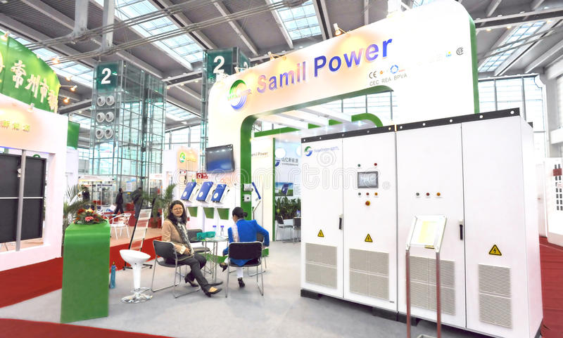 Download Samil Power Solar Inverter Manufacturer Editorial Image - Image: 22327595